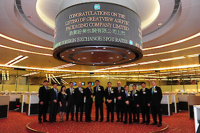Hong Kong Stock Exchange Listing (2010)